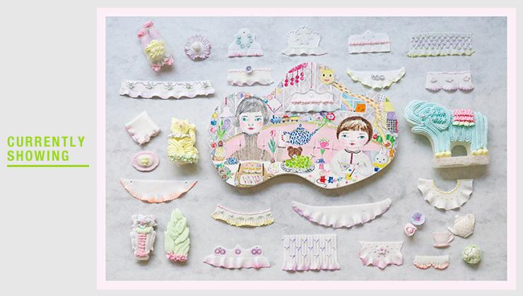 2017.2.25 - 3.3 東ちなつ個展 Pretty Things