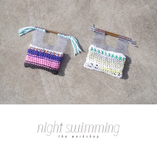 CIANSUMI night swimming ワークショップ at nidi gallery