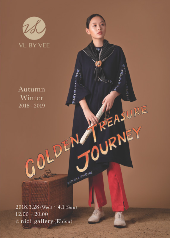 VL BY VEE: GOLDEN TREASURE JOURNEY at nidi gallery